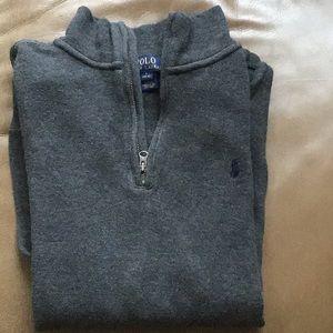 Polo 1/4 zip pullover